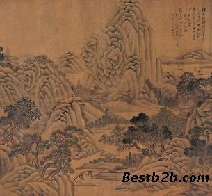 他能诗书,擅绘画,白描,人物,山水,花卉,佛像,墨模无不精工.