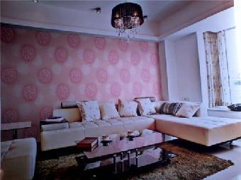欧式卧室墙漆颜色效果图紫色