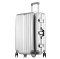 廠家生產批發經典鋁框拉桿箱萬向輪行李箱男女旅行箱