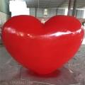 湛江玻璃钢定做模型心形爱心玻璃钢雕塑