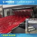 PVC玻璃瓦、合成樹脂瓦、仿古瓦生產設備