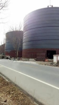 廠家介紹粉煤灰儲存倉 水泥筒倉建設技術要點