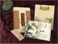陕西丝绸邮票纪念册《关中八景》《长安八景》纪念品