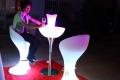 貴州網紅發光桌椅板凳水母燈各類發光道具租賃