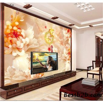 瓷砖彩雕艺术背景墙适用的行业:    家庭:电视背景墙,沙发背景