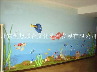 水泥墙体手绘素材