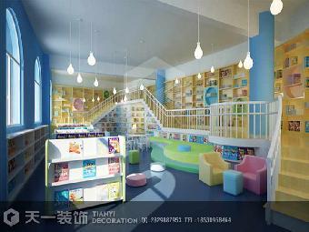 郑州大型幼儿园装修设计案例