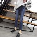 便宜尾貨牛仔褲工廠大量批發1至5元韓版庫存牛仔褲