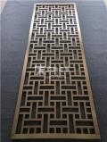 江蘇香檳金不銹鋼焊接屏風廠家按客戶需求設計
