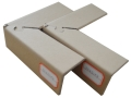 出售硬紙板拐角專業防撞 南充蓬安縣紙質包裝護角