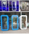 江津市移動玻璃隔音間 可拆卸玻璃房廠家定制
