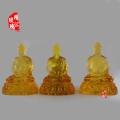 紹興三寶佛批發大件三寶佛雕刻定做琉璃佛像生產廠家
