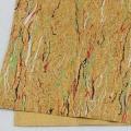 彩色軟木卷材 花紋軟木布 歐盟環保免費拿樣