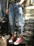 哪里有適合地攤熱賣女牛仔褲工廠直銷庫存處理幾元批發