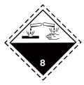 8類危險品乙醛酸出口要求