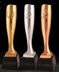 惠州華陽電器公司年會獎杯年度杰出銷售獎杯勞動模范獎