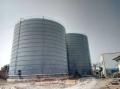 盐城电厂粉煤灰库制作商 钢板仓设计