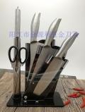 好太太同款六件套刀礼品刀具不锈钢