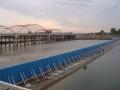 贵州毕节定制液压翻板钢制闸门 水利翻板闸活动坝