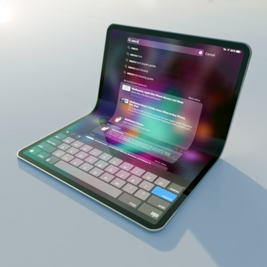 传苹果将推可折叠5G iPad 最快或于明年推出