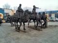 鑄銅雕塑廠 銅駱駝定制 絲綢之路雕塑