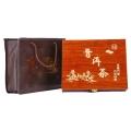 溫州平陽靈芝木盒包裝廠家, 上海保健品木盒包裝