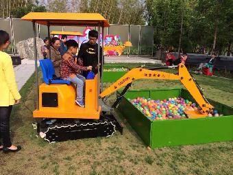 上海苏州六一儿童嘉年华游戏道具出租 游乐挖掘机租赁