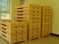 绵阳幼儿园实木家具幼儿园玩具柜定制