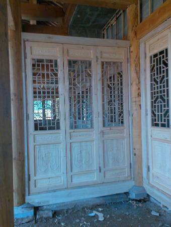 仿古木结构门窗