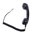工厂直销卷曲线听筒工业级别防水防爆电话机听筒壁挂式