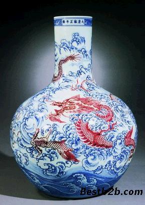 瓷器/联系我时请说明来自志趣网,谢谢! 关键字:釉里红瓷器价格猛涨...