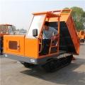 8吨拉混凝土履带运输车 28马力水田履带运输车