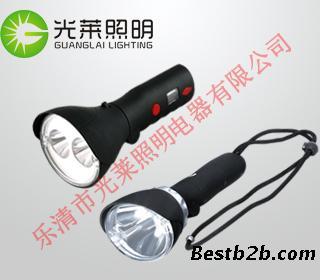 led充电式手电 ,多功能手持强光工作灯