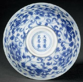瓷器/关键字:大清雍正官窑瓷器私下