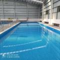 威海校園拼裝式泳池安裝 學校泳池 學校游泳教育