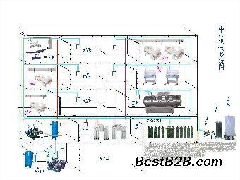 中央供氧系统安装图:什么是中央供氧系统