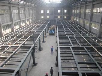 北京专业搭建钢结构二层厂房库房安装钢结构夹层阁楼