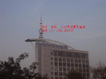 楼顶避雷装饰塔,楼顶钢结构造型