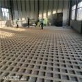 禹城市柞木體育木地板雙龍骨結構的安裝