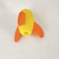 厂家定做epe珍珠棉火箭炮 异形研磨玩具eva制品