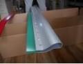 帶鋁柄絲印刮刀 絲印油性刮刀 75度平口刮膠