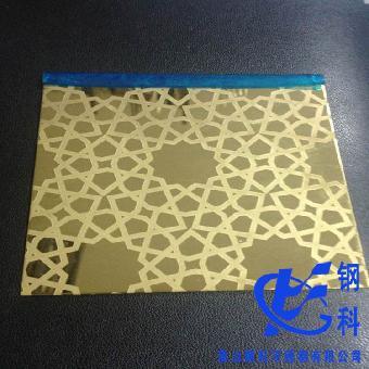供应彩色不锈钢蚀刻花纹板