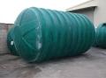 波紋型玻璃鋼化糞池、 新型玻璃鋼化糞池 、化糞池