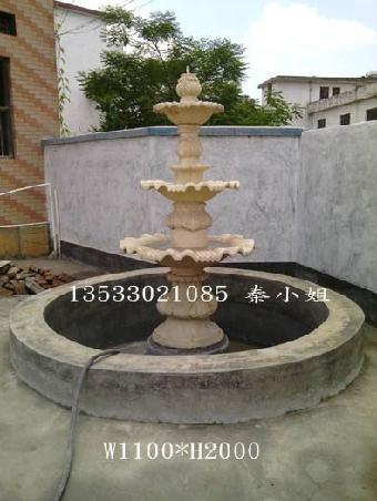 庭院别墅喷泉 楼盘小区入户雕塑