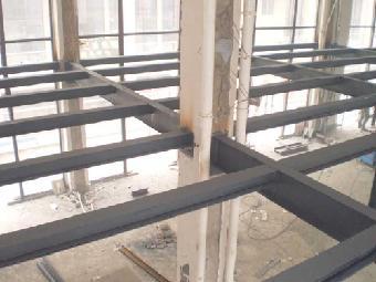 北京搭阁楼隔层搭建钢结构隔层二层顶层底商阁楼制作