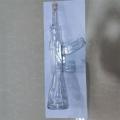 沖鋒槍玻璃造型酒瓶 大槍定制酒瓶 河間高硼硅耐熱瓶