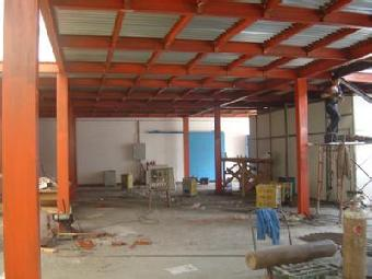 做钢结构二层 钢结构阁楼夹层制作