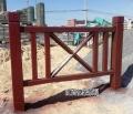 湖南湘潭仿木欄桿棧道圍欄,衡陽衡山景區水泥仿木護欄