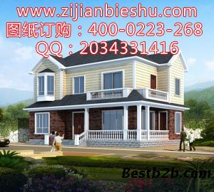 二层别墅设计图 农村别墅户型图