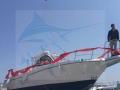 萊州休閑海釣快艇9米玻璃鋼釣魚艇